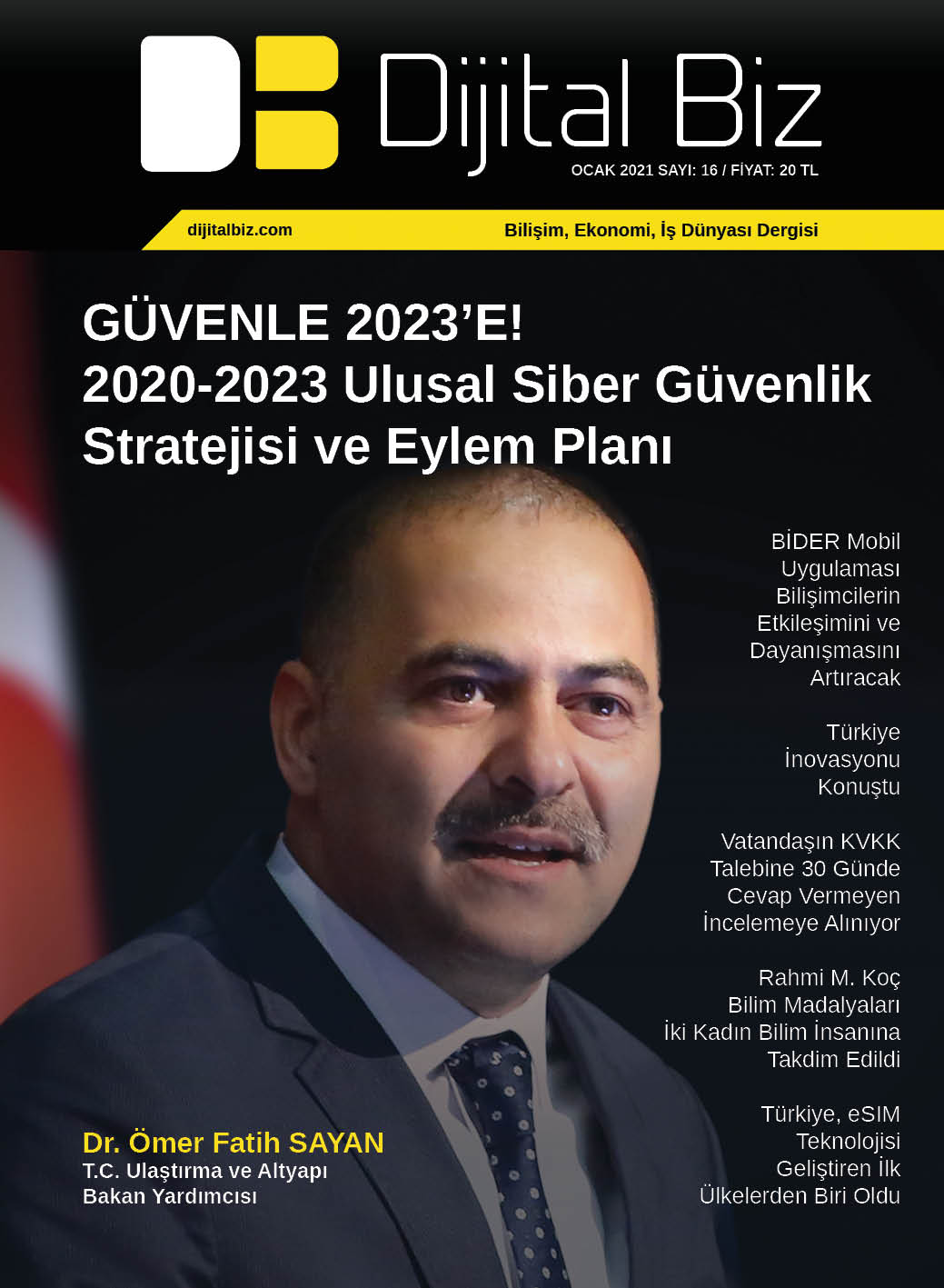Dijital Biz Dergisi Ocak 2021 Sayısı